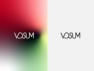 Typography Logo Design minimalistic typography flat logo vector illustration design branding