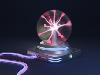 Mysterious Lava Orb blender3d 3dart 3dmodeing