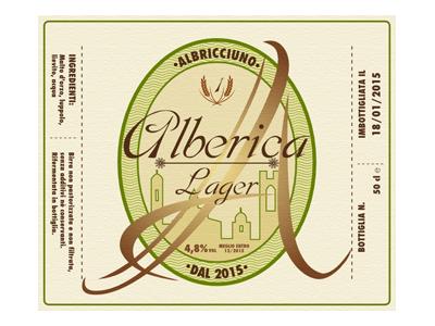 Beer Label Alberica beer label label graphics vector svg