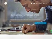Cronnection Landing Page