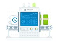 Cronnection Wallet Illustration