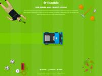 Footbie.com error screen