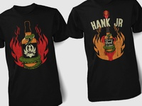 Whiskey Bent Hell Bound T-Shirts
