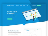 software product landing page