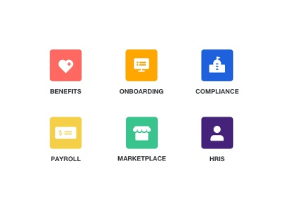 features icon set (outlined & filled) onboarding compliance hris marketplace payroll benefits