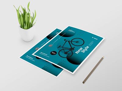 Modern Business Flyer Design branding vector design typography illustration psd ai business design business flyer flyer design flyer modern