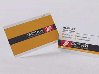 Modern Business Card Design t-design branding vector design typography illustration ai psd business corporate card visiting card business card