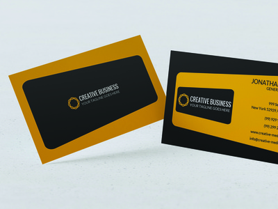 Modern Business Card Design branding vector design typography illustration visa card id card corporate card ai psd visiting card business card