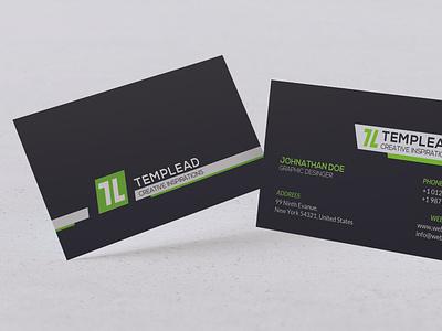 Modern Business Card Design branding vector design typography illustration ai psd business id card corporate id visiting card business card