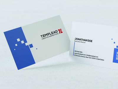Modern Business Card Design design logo branding vector typography illustration psd ai id card corporate id visiting card business card