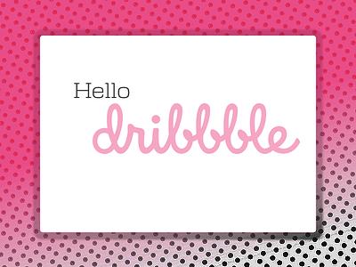 yo, Dribbble debut