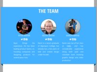 Website Team Section