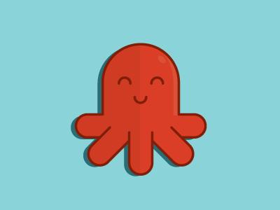 Red Octopus Freebie!