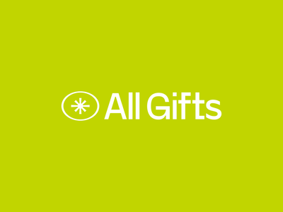 All Gifts Logo geometric graphic eye martinie identity logo icon branding