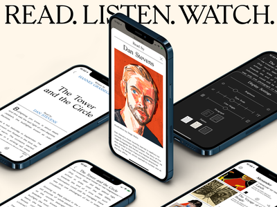 Alexander — Story Screens product illustration story ios mobile pattern audiobook audio filter read book reader app ux ui