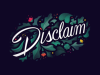 Disclaim dark