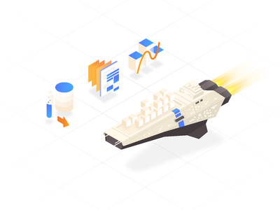 amazon ╱ isometric ①