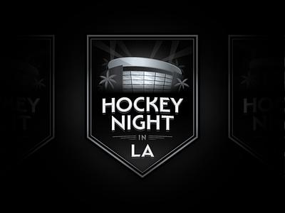Kings classic art deco shield sports illustration stadium los angeles hockey crest logo typography branding