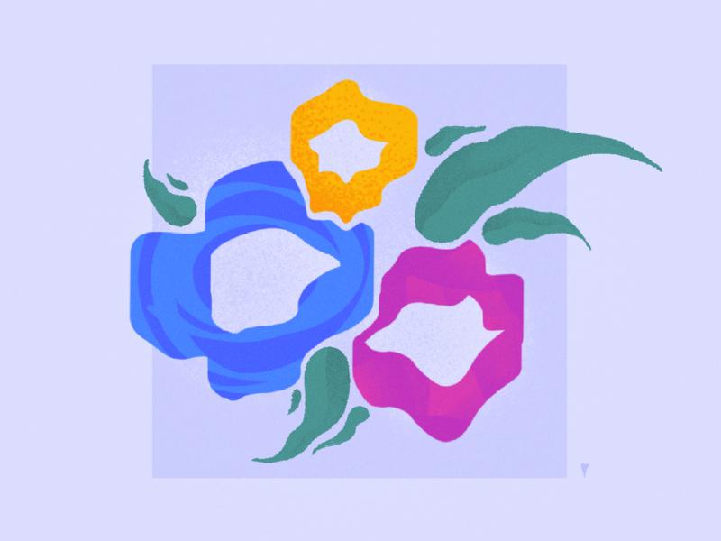 nature ➂  ⎯  ✸✸✸ bouquet floral california superbloom art minimal pedal leaf plant botanical abstract illustration poppy flower nature tulip