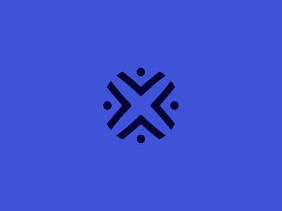 Icon corporate cannabis floral mark monogram v path crossroads flower vector design identity pattern logo branding icon