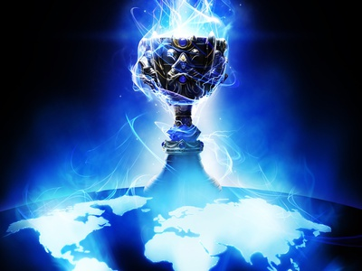 League of Legends World Championship gaming la staple center riot league of legends electricity planet earth world energy videogame illustration championship tournament cup key art