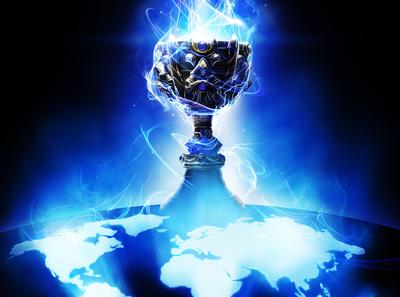 League of Legends World Championship gaming la staple center riot league of legends electricity planet earth world energy videogame illustration championship tournament cup key art