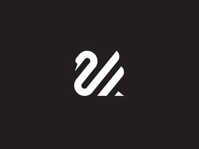 Swan minimal brand swan logo