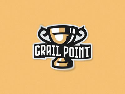 grail illustration design sport putylo logotype branding mascot identity team logo
