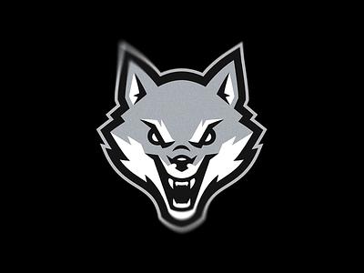 wolf wolves wolf putylo logotype branding mascot identity team sport logo