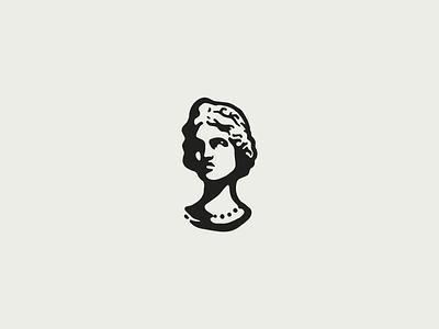 woman roman restaurant woman logo italian greek fashion face clothing