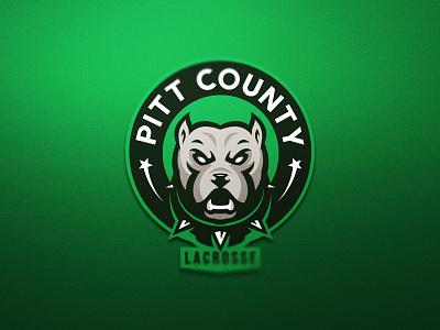 Pitbull dog pitbull logotype illustration identity sport team mascot logo