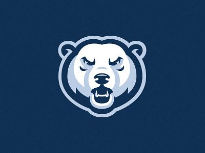 Polar Bear polarbear bear polar esport animal sports head logotype branding identity mascot team sport logo