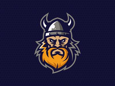 Viking vikings viking vector illustration brand human esport head putylo logotype branding identity mascot sport team logo