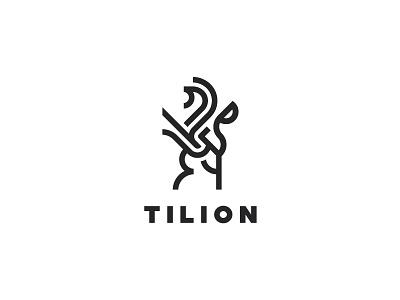 Tilion design lion animal putylo brand logotype branding identity logo