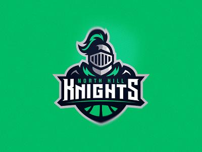 knight rycerz hill knight mark vector human head brand putylo logotype branding mascot identity team sport logo