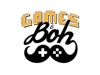 Games & Boh Logo mustache brand controller beer boh baltimore logo reviews gamer games