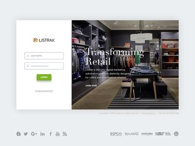 Login Concept retail password username login