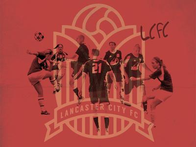 Soccer Poster poster crest soccer lcfc club football city lancaster
