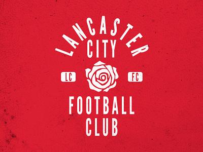 Lancaster City Football Club gothic league shirt rose soccer club football city lancaster
