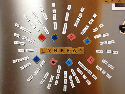 I'm sorry about the fridge magnets