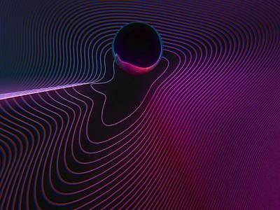 MUTEK.SF - Spectral Moire Loop moire mutek video motion spectral 3d loop octane gif c4d cinema 4d