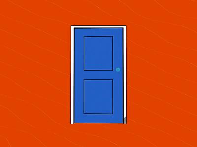 Equiknoxx Music - Audio-reactive Door Loop dancehall jamaica music cartoon vj audioreactive shader sketch cel toon illustration motion loop cinema 4d c4d gif