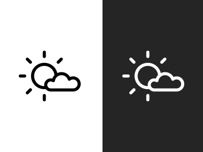 Bnw weather icon