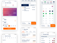 Ticketbari Bus ticket apps UI/UX