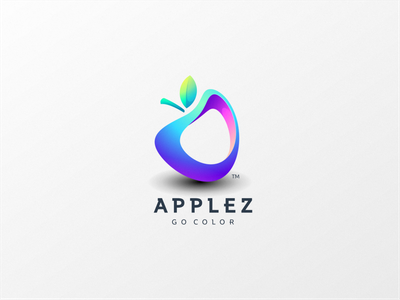 Applez web graphic design flat design ux ui logo icon branding app apple