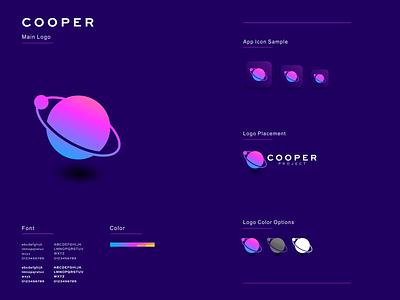 Cooper illustration graphic design design flat icon branding ux ui logo app