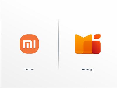 Xiaomi graphic design design flat icon branding ux ui logo app xiaomi new logo mi xiaomi