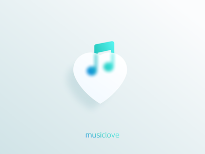 music minimal illustration graphic design design flat icon branding ux ui logo app music