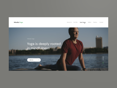 Yoga Services Brand Website Design