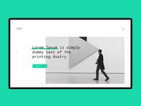 Website design for Artists salon